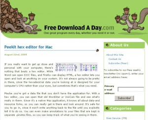 Free Download A Day