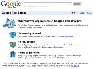 Google App Engine - แพลตฟอร์มฟรีสำหรับเว็บแอพพลิเคชัน