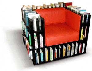 เก้าอี้ชั้นหนังสือ -- หยิบง่าย อ่านเพลิน