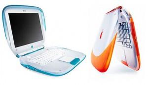 iBook สีสันสดใส ดีไซน์เดียวกับ iMac รุ่นแรก